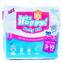 BABY HAPPY DIAPERS S10