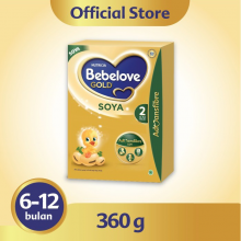 BEBELOVE gold Soya 2 - Box 360 Gr.