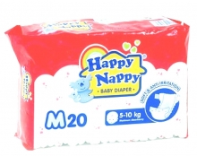 HAPPY NAPPY DIAPERS M-20