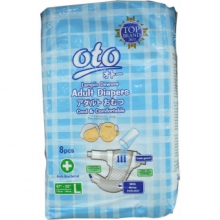 OTO ADULT DIAPERS L-8