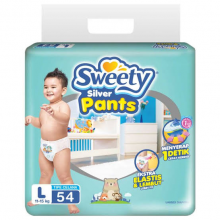 SWEETY SILVER PANTS L-54