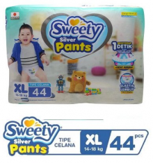 Sweety Silver Pants XL-44