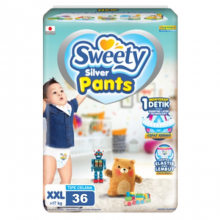 Sweety silver Pants XXL-36